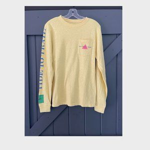 Light Yellow Long Sleeve T-Shirt